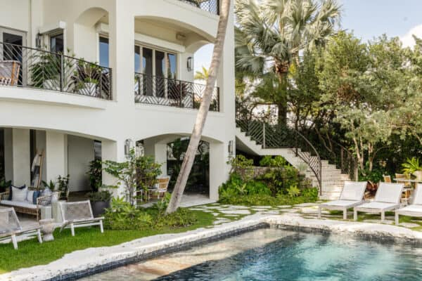 featured posts image for Tour a gorgeous hacienda Spanish style retreat overlooking Biscayne Bay
