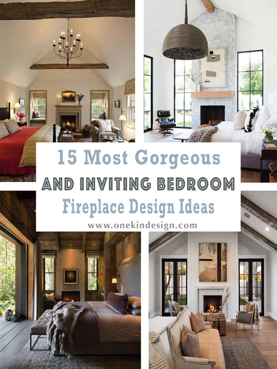inviting-bedroom-fireplace-design-ideas