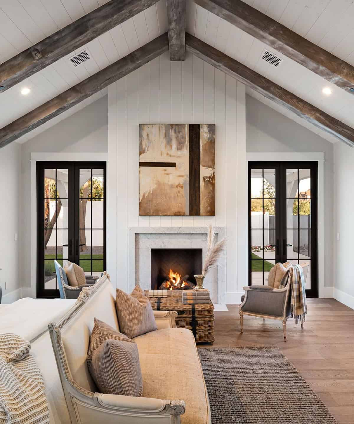 15 Most Gorgeous and Inviting Bedroom Fireplace Design Ideas Ever