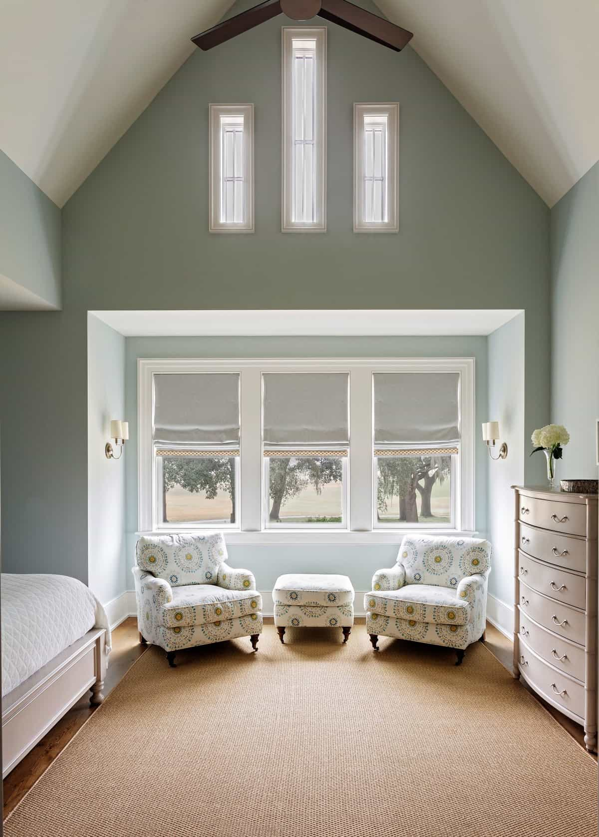 spavaća soba u primorskom stilu