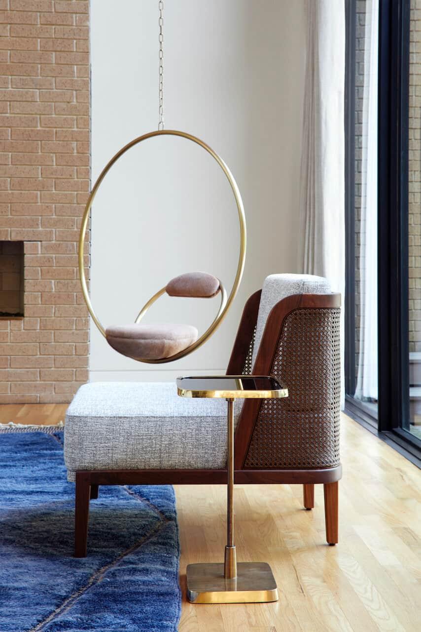 sredina stoljeća-moderna-dnevna-soba-viseća stolica