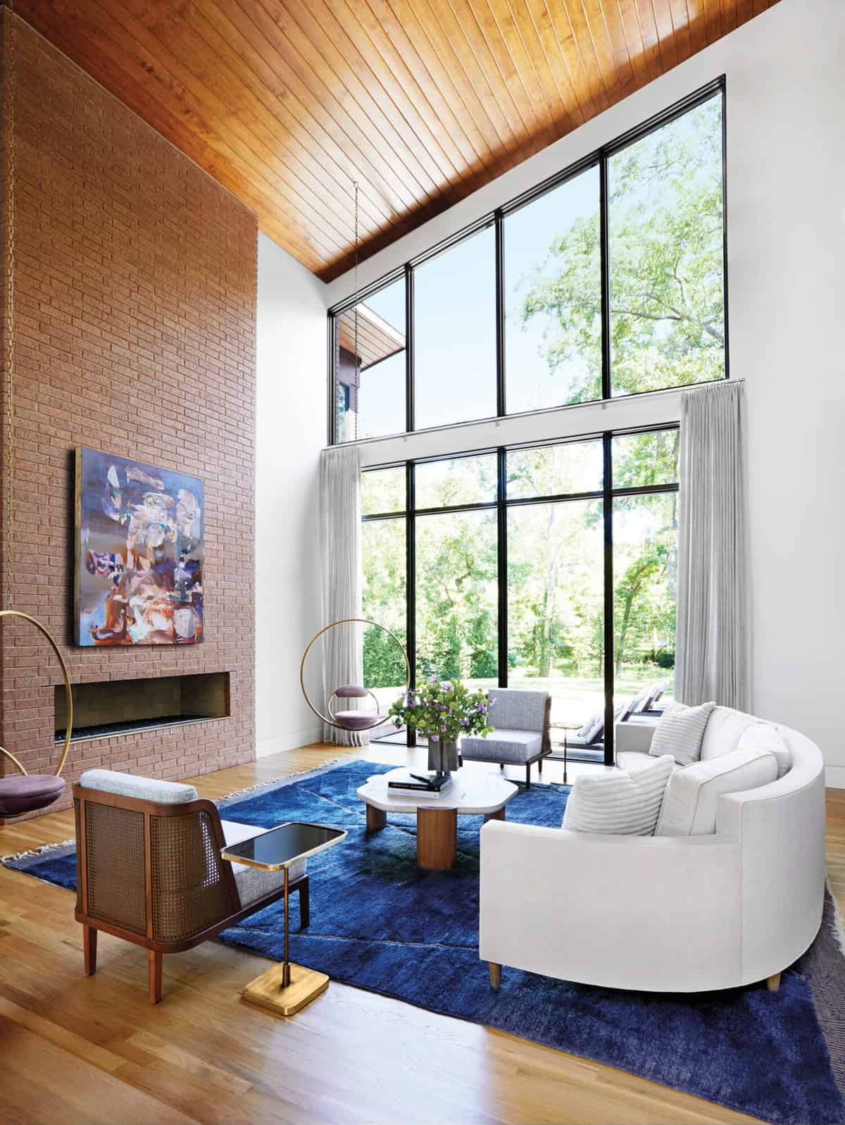 moderna-dnevna soba sredinom stoljeća