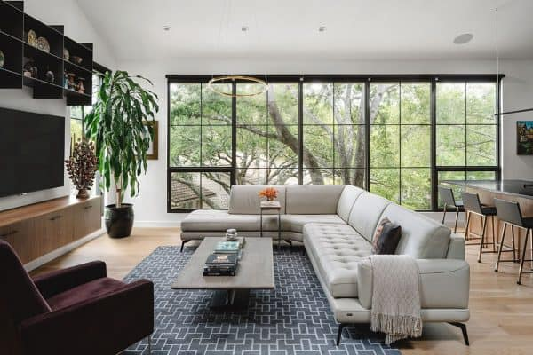 featured posts image for A dated townhouse in Austin gets revamped into a beautiful hillside retreat