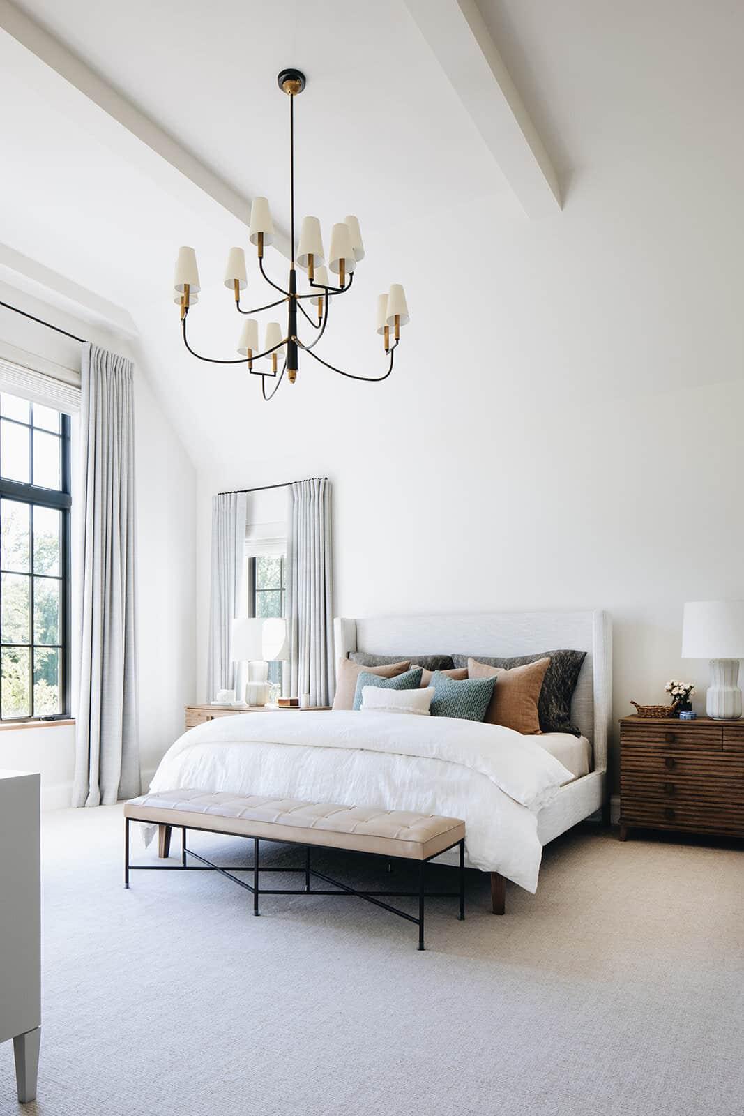 moderna-engleska-zemlja-prijelazna spavaća soba