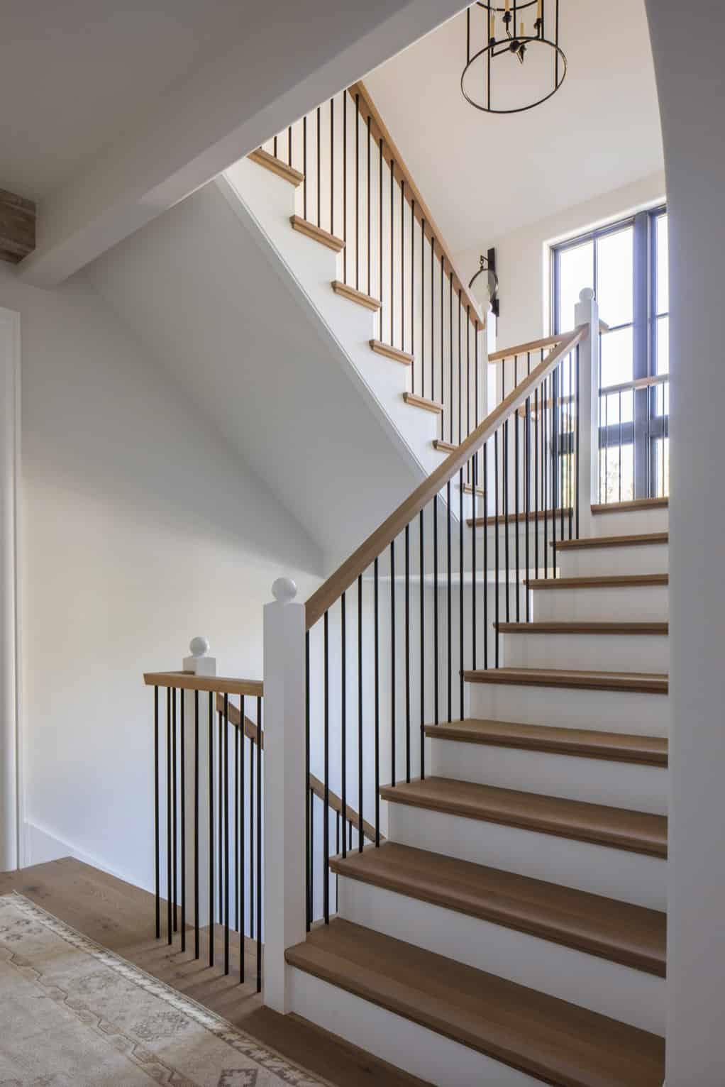 moderna-engleska-zemlja-prijelazno stubište