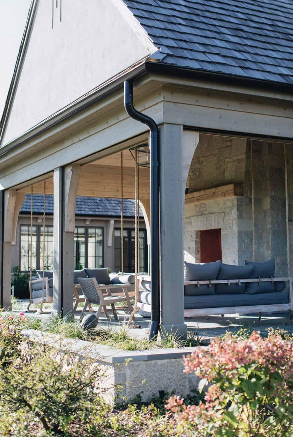 moderna-engleska-zemlja-dom-prijelazni-trijem