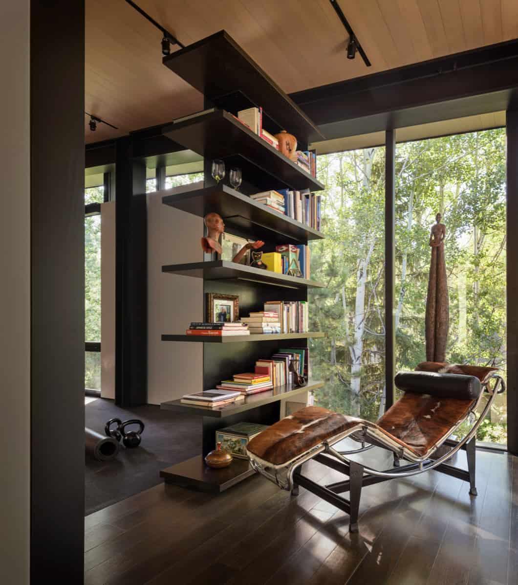 mountain-contemporary-home-library