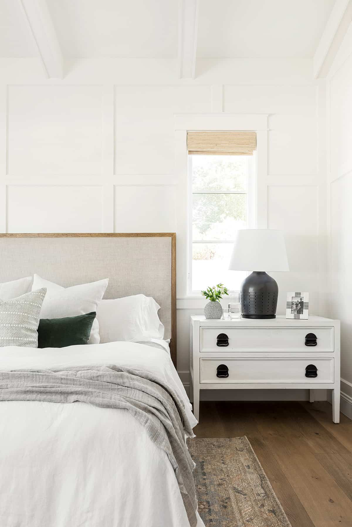 spavaća soba u stilu seoske kuće