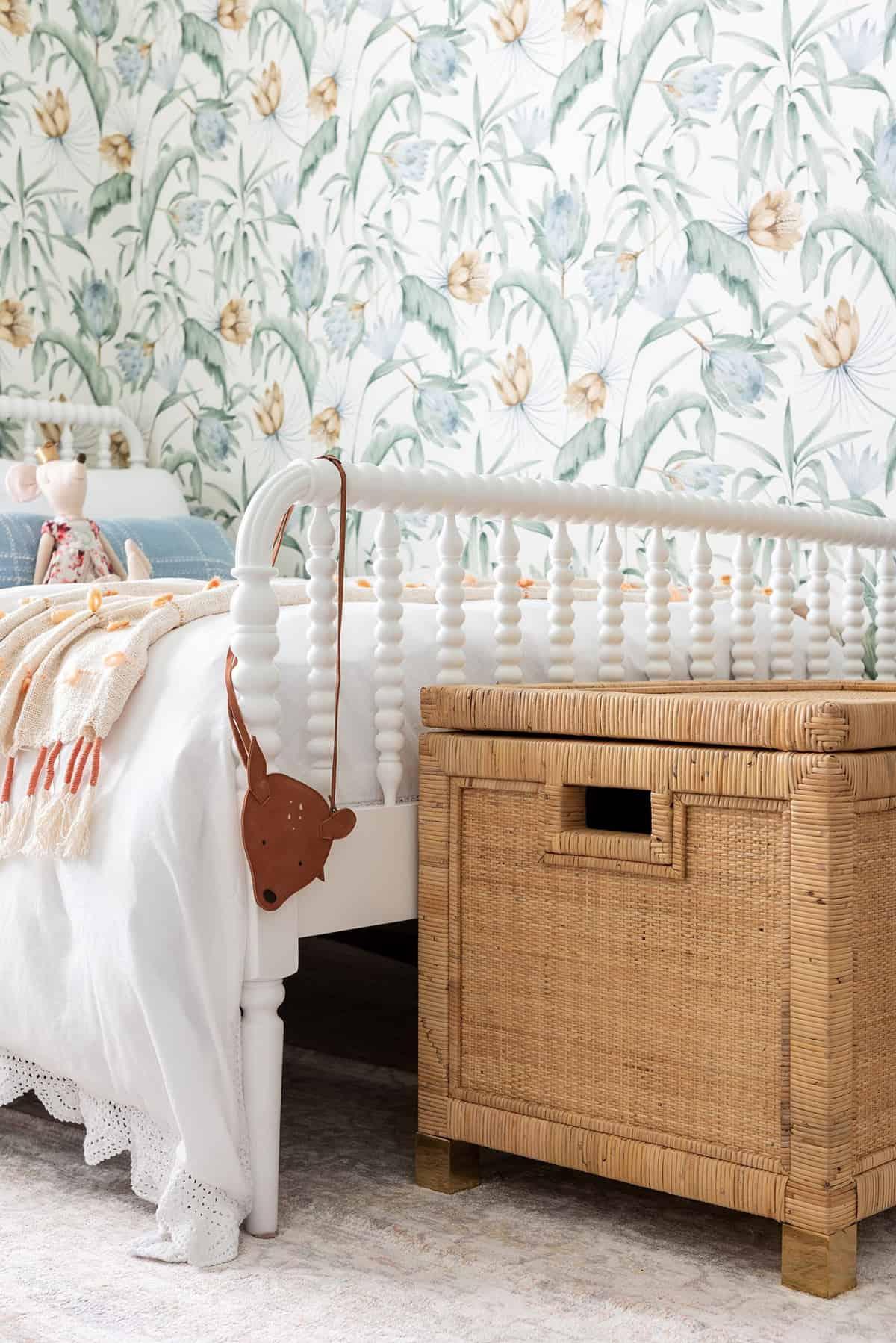 spavaća soba za djevojke u stilu seoske kuće