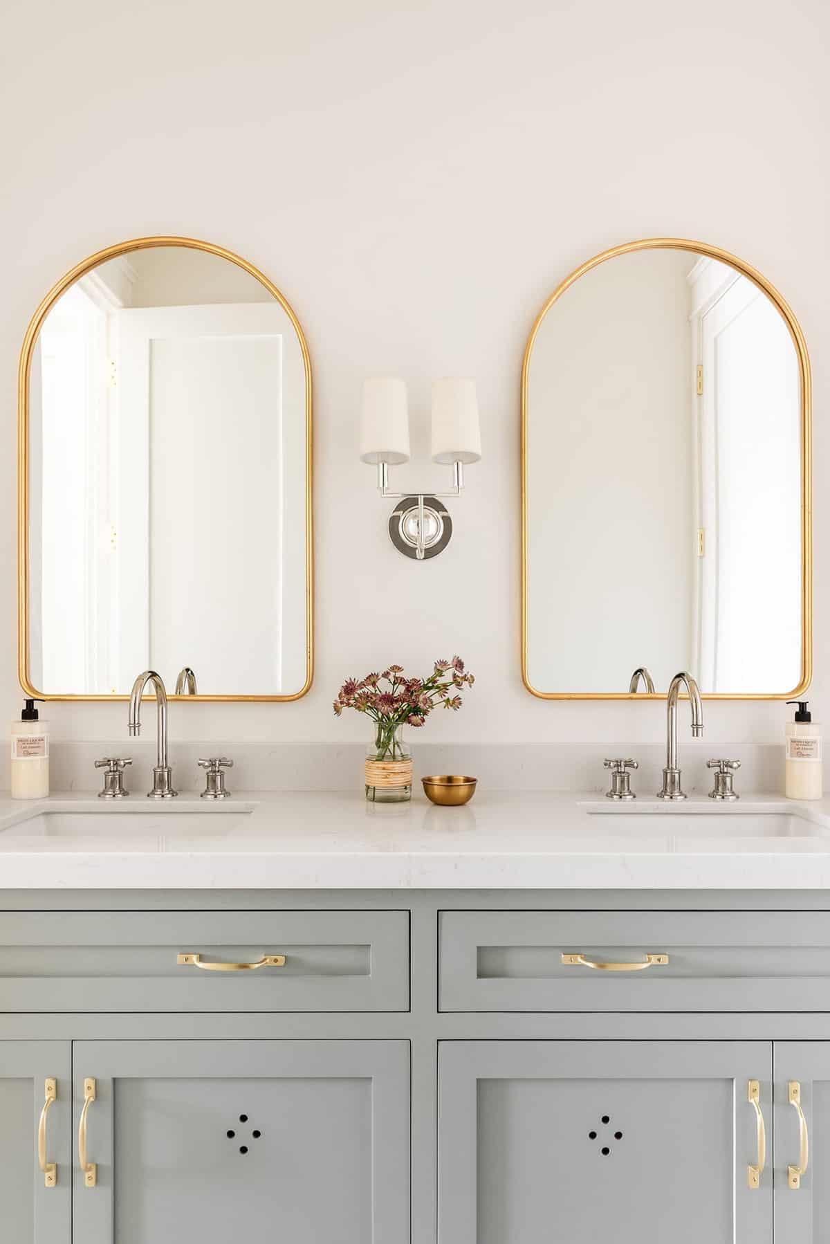 kupaonica u stilu seoske kuće