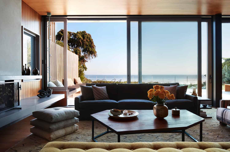 kuća na plaži-dnevni boravak
