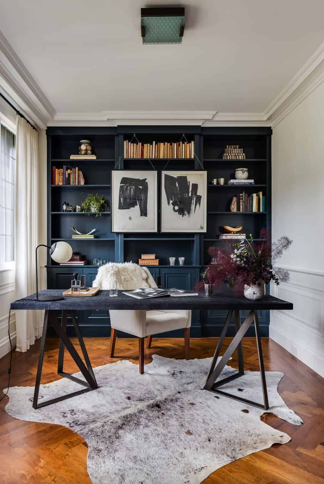 office-with-a-dark-built-in-bookcase