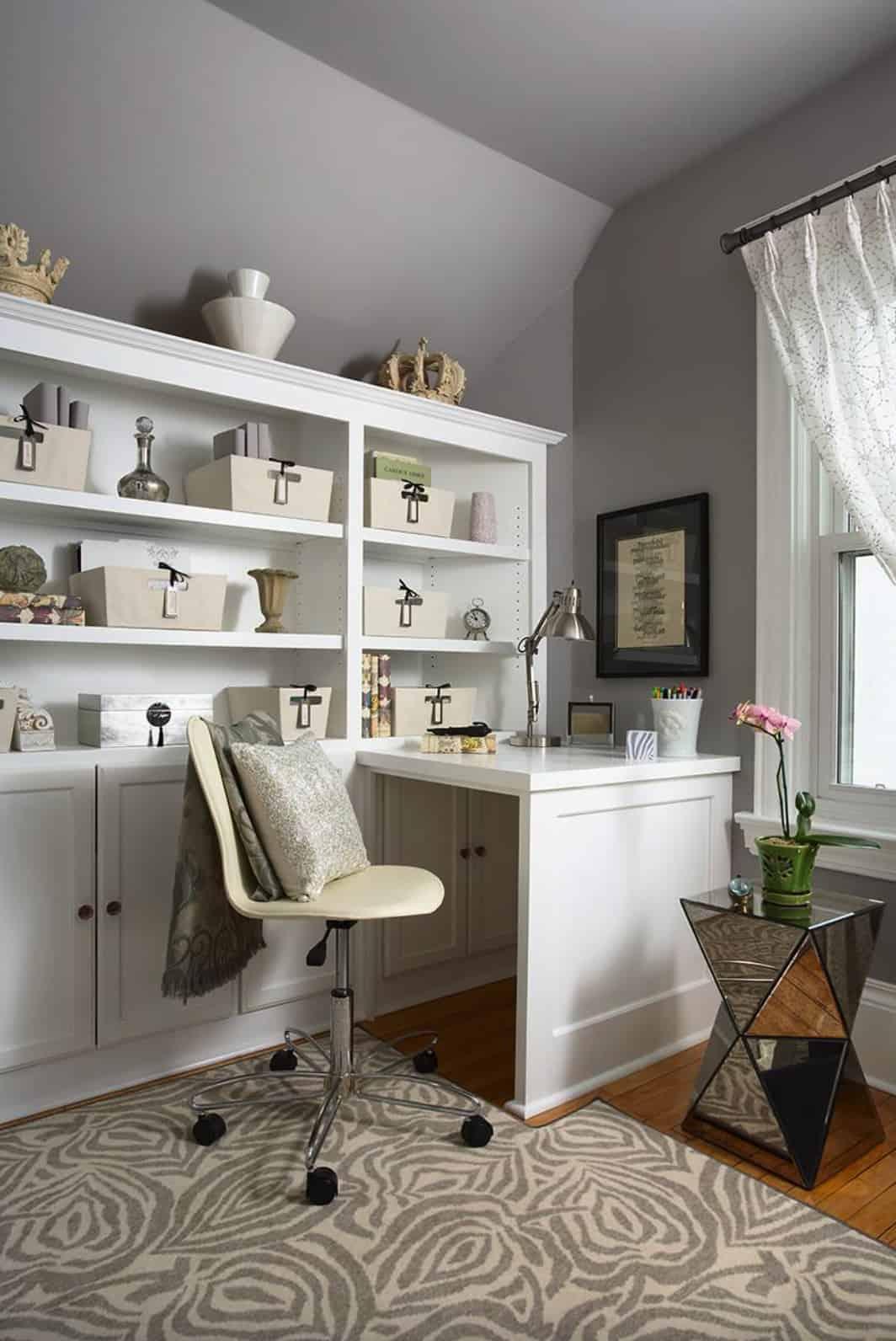 feminine-fashion-Inspired-home-office