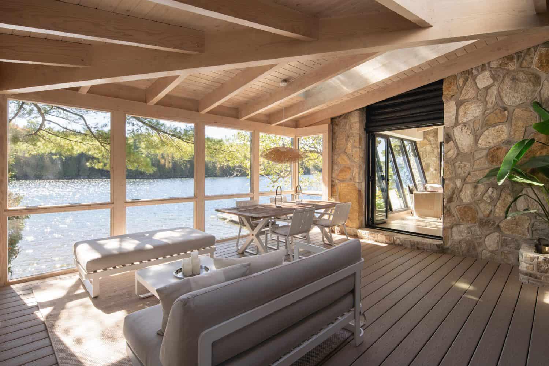 contemporary-screened-porch