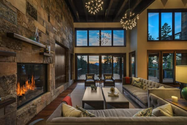 featured posts image for A majestic mountainside retreat with breathtaking views over Martis Valley