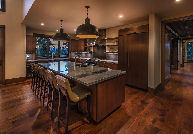 rustic-contemporary-kitchen