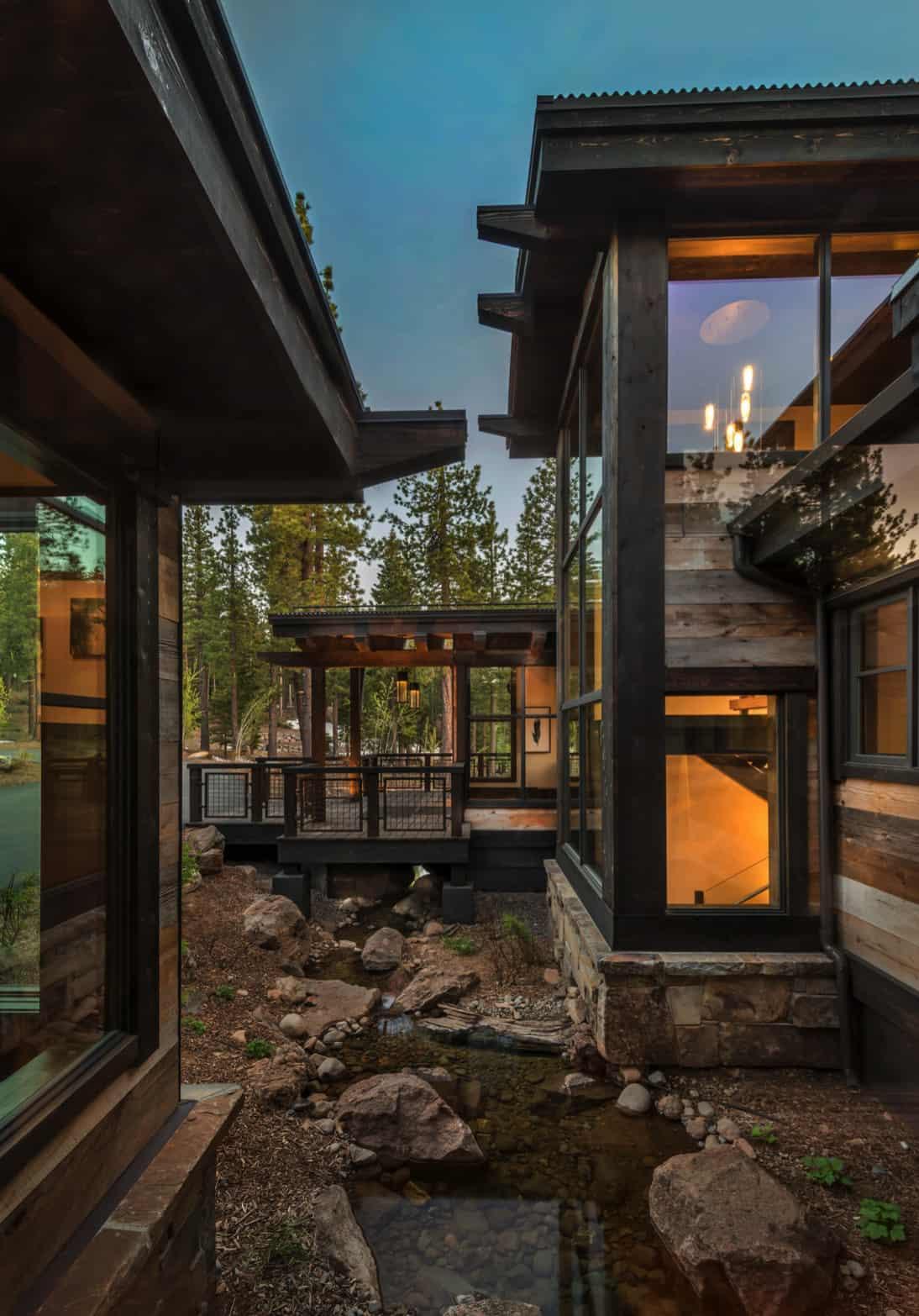 rustic-contemporary-mountain-home-exterior-with-bridge