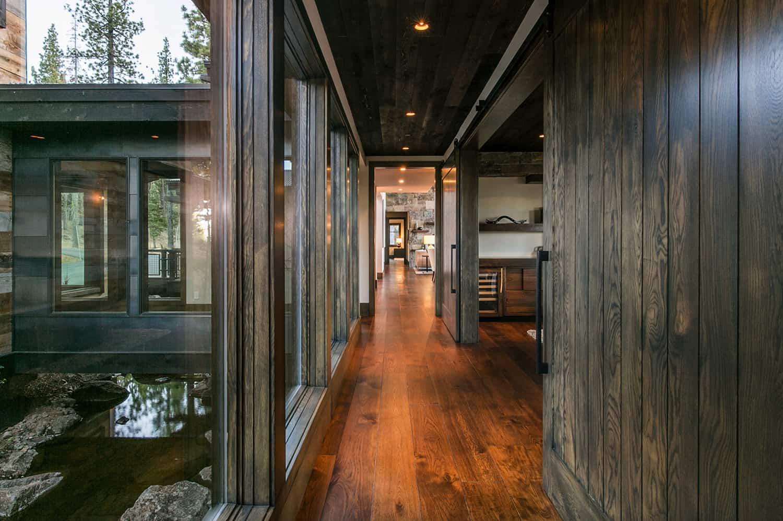 rustic-contemporary-hallway