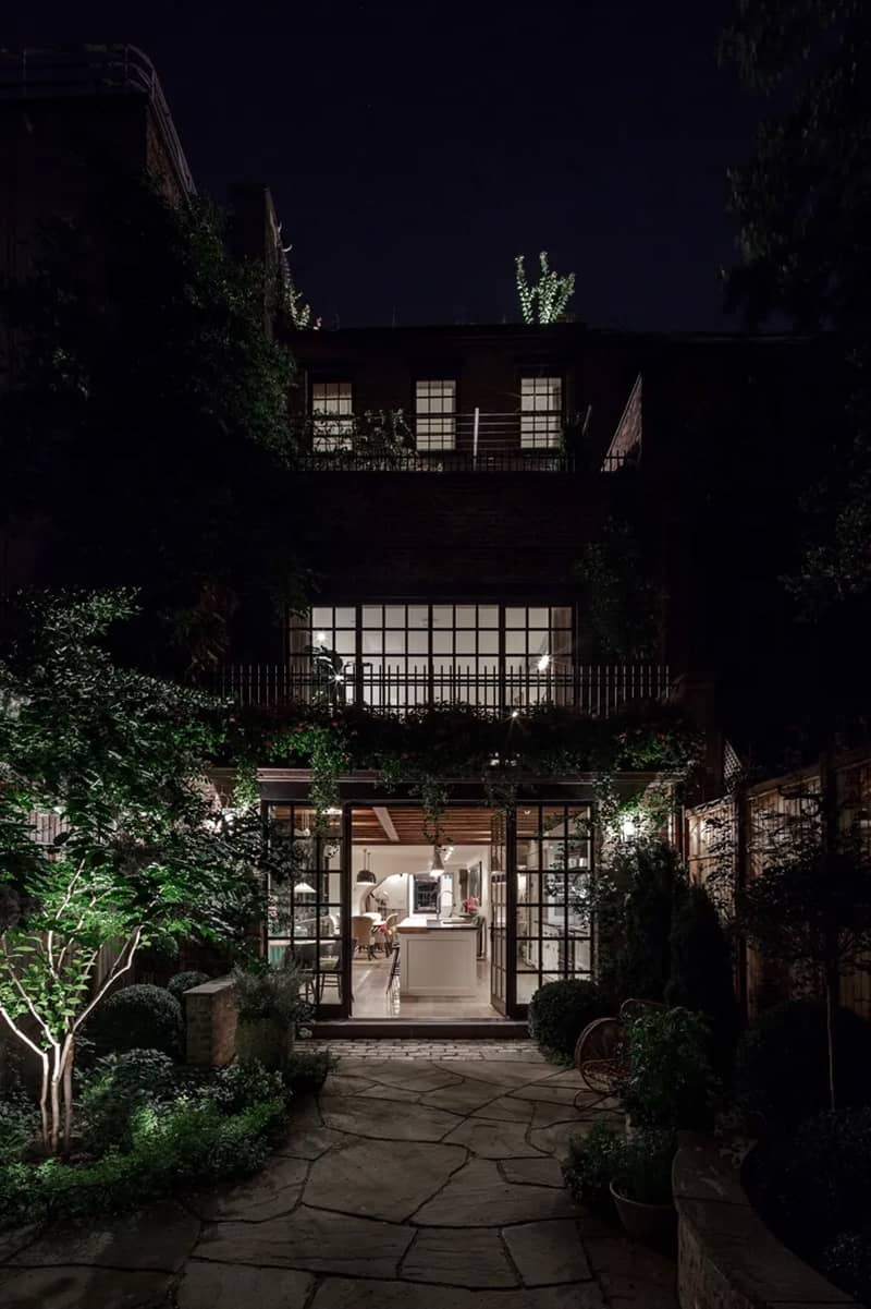 industrial-townhouse-exterior-night
