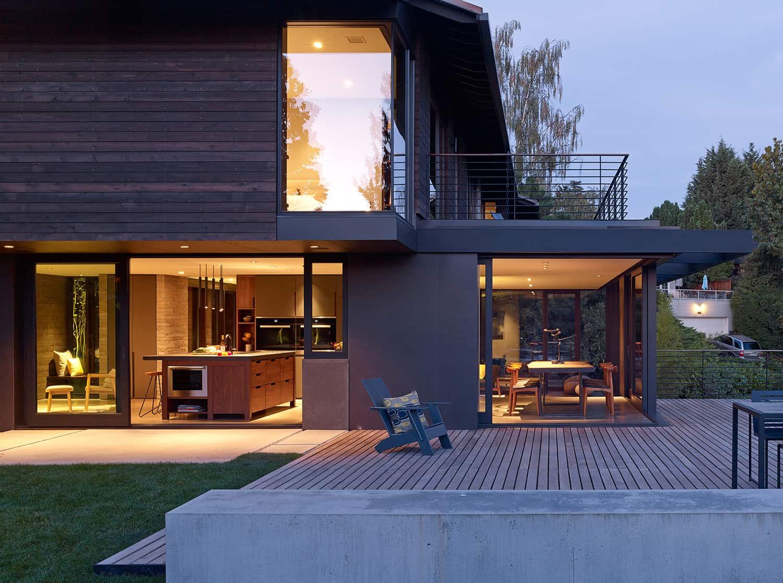 noche-exterior-casa-moderna-de-mediados de siglo