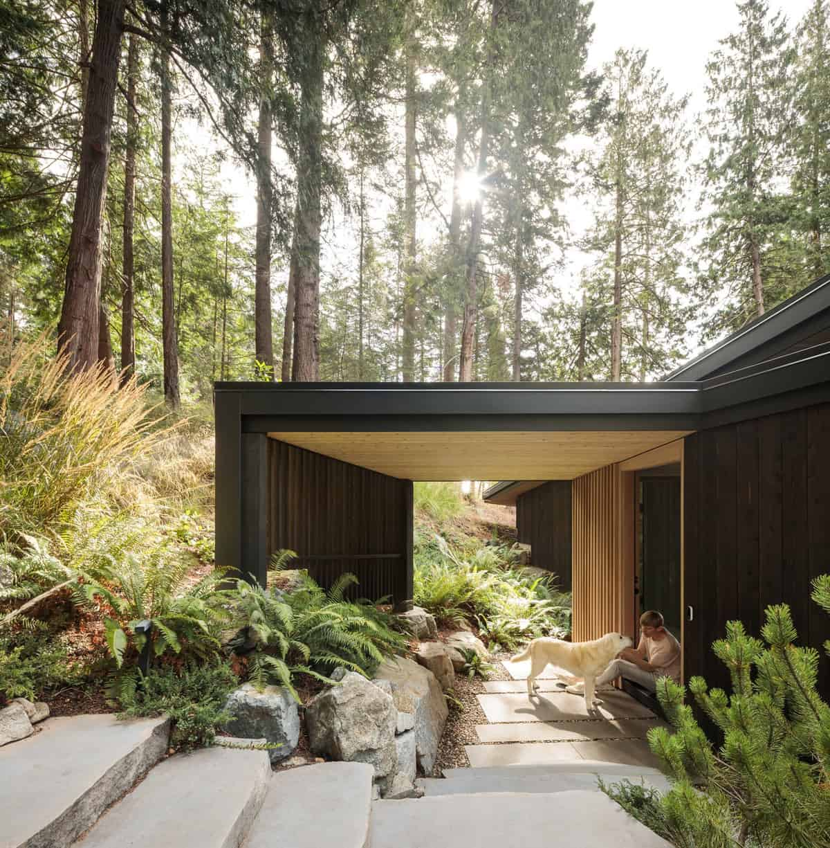 modern-rustic-cabin-entry