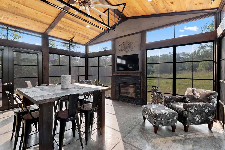 pole-barn-house-industrial-sunroom
