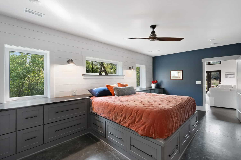 pole-barn-house-modern-bedroom