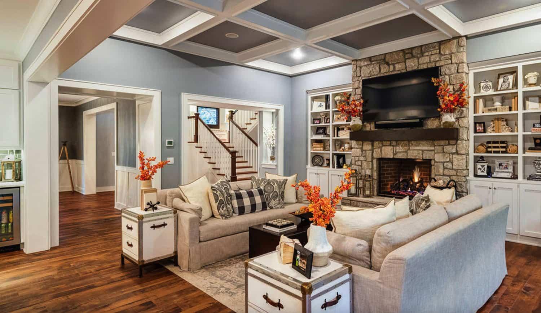 craftsman-living-room