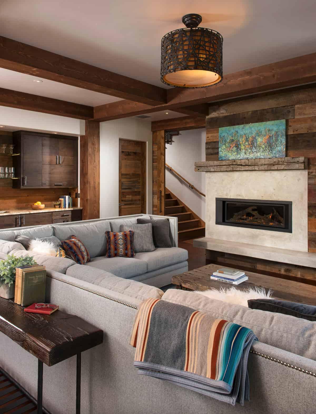 rustic-basement-family-room