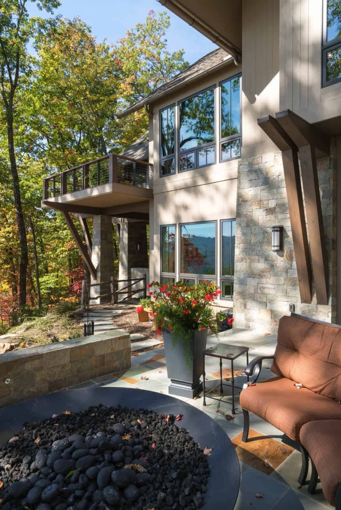 transitional-mountain-home-patio