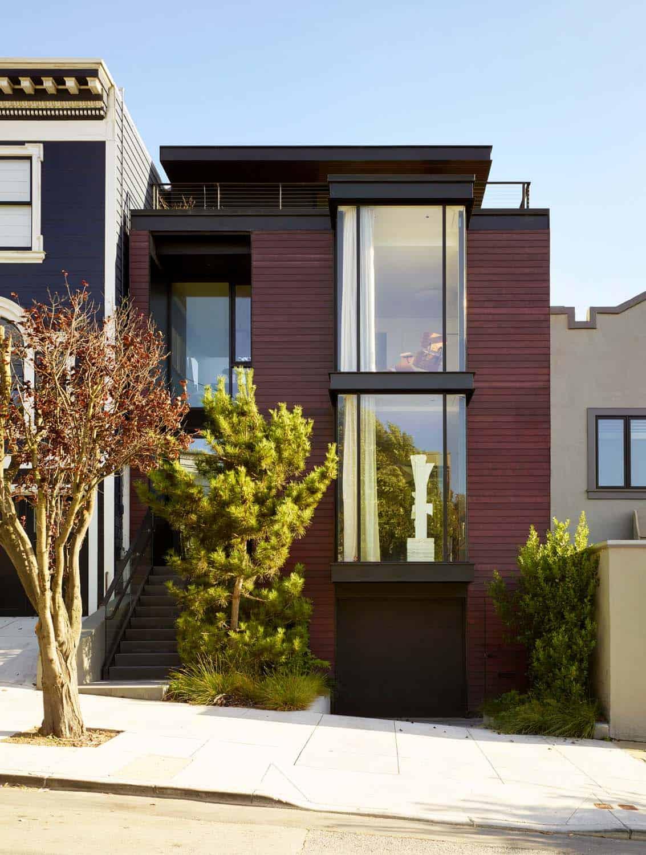 contemporary-townhouse-exterior