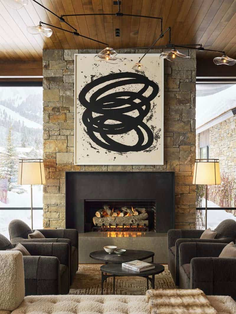 contemporary-mountain-style-living-room-fireplace
