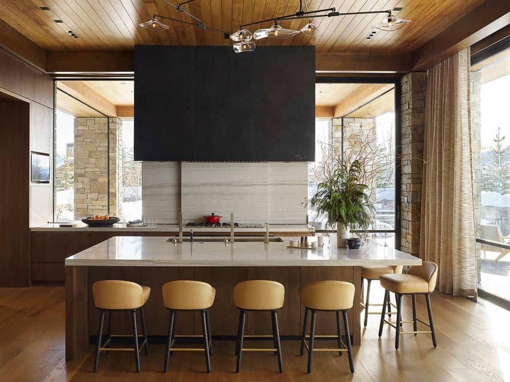 contemporary-mountain-style-kitchen