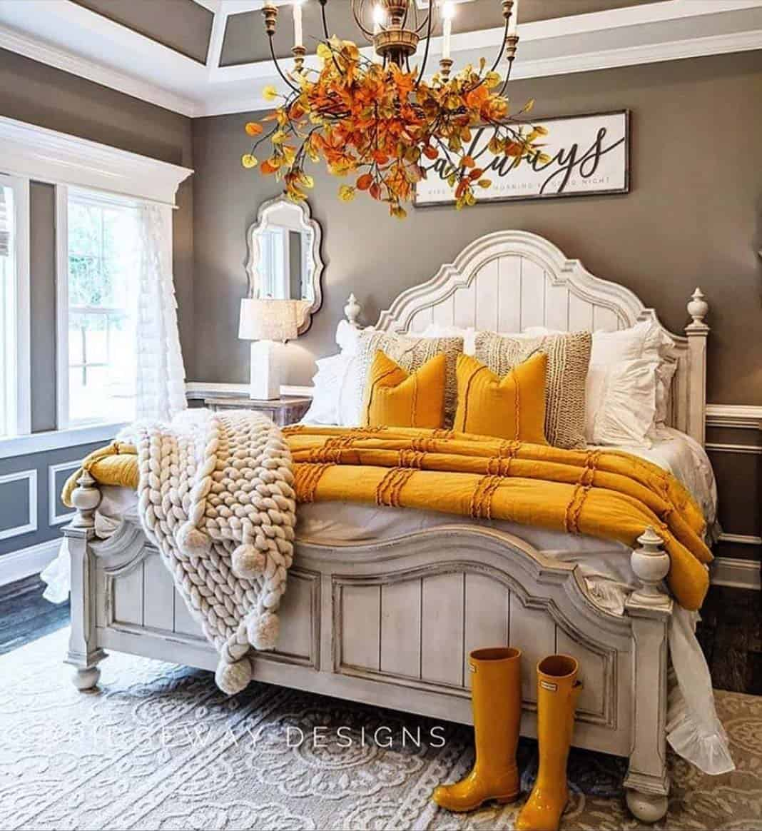 farmhouse-cozy-bedrooms-decorated-for-fall