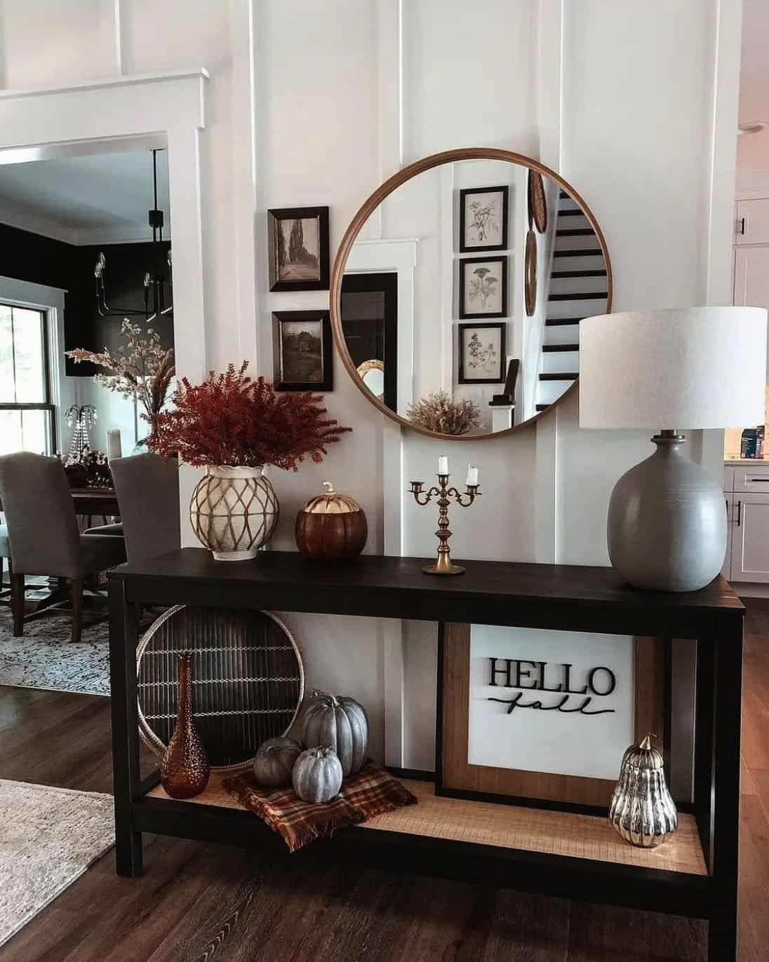 fall-decorating-entry-console-table