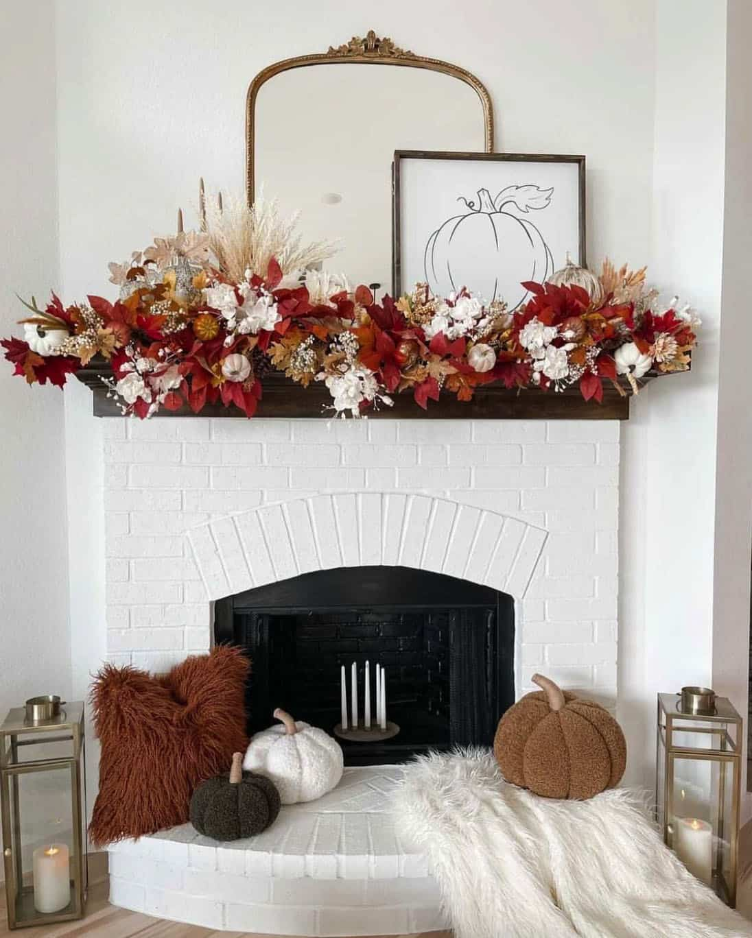 fall-decorated-living-room-with-fireplace-mantel