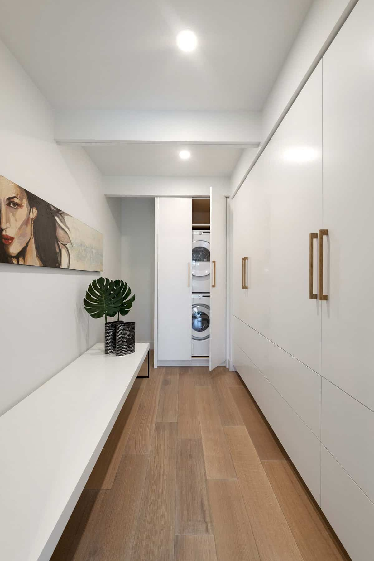 mid-century-modern-hall-laundry-room