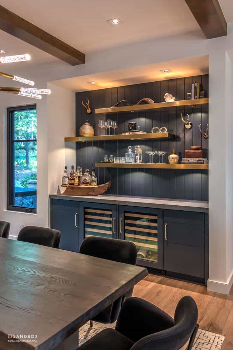mountain-contemporary-home-dining-room-custom-built-in-wet-bar
