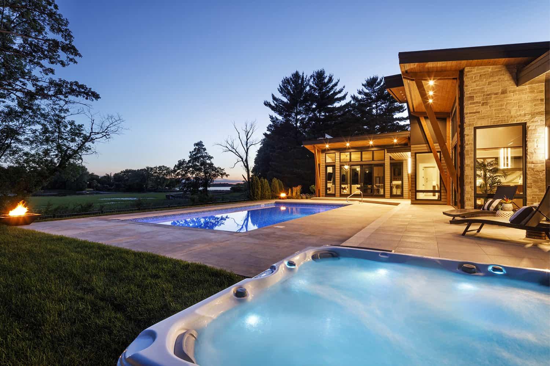 mountain-modern-swimming-pool-night