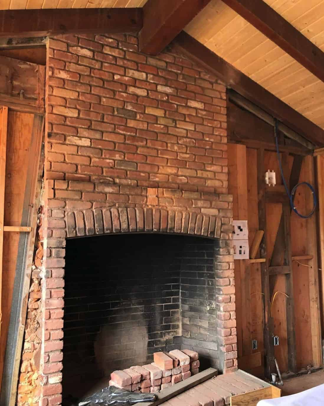 childhood-home-renovation-brick-fireplace-before-the-remodel
