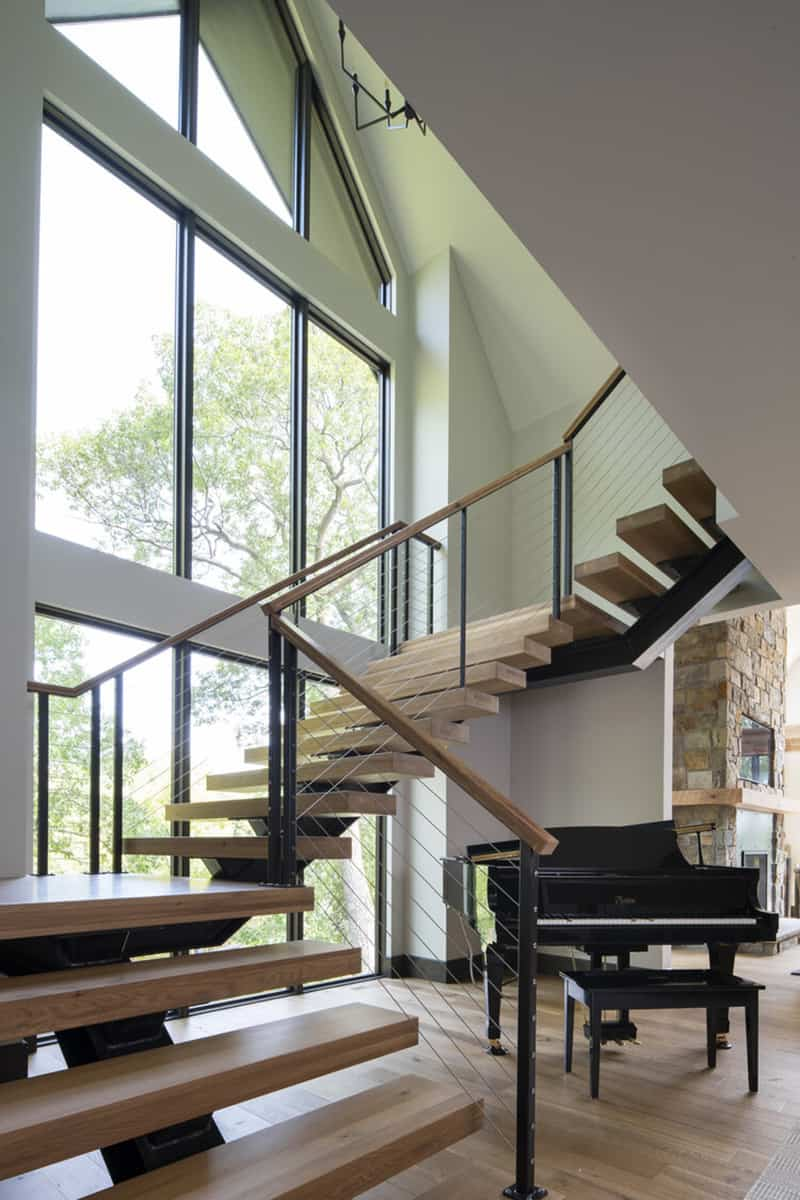 rustic-contemporary-staircase