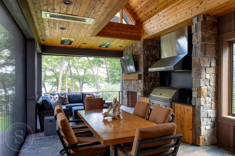 rustic-contemporary-screened-porch