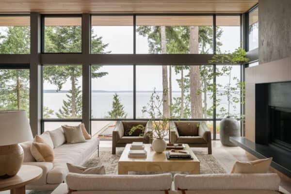 featured posts image for An absolutely exquisite Scandinavian inspired lake house in Washington