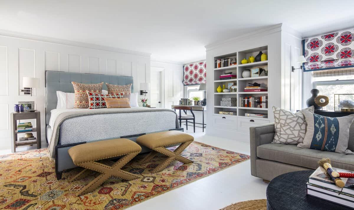 bohemian-style-master-bedroom