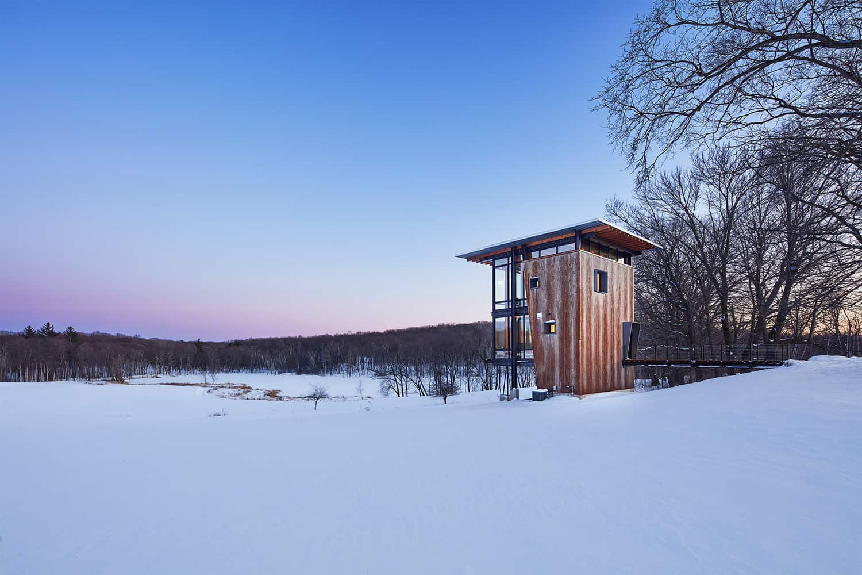 small-metal-cabin-exterior