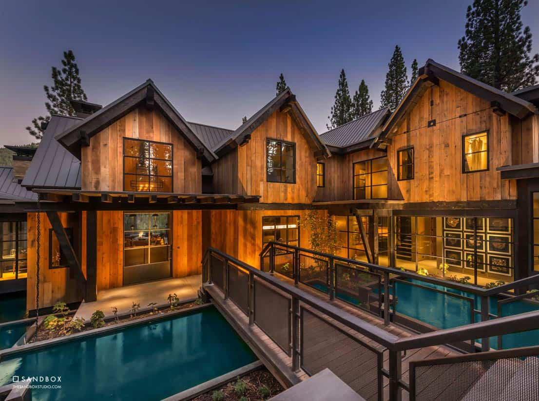 Mountain dream house has a modern take on the traditional Tahoe style