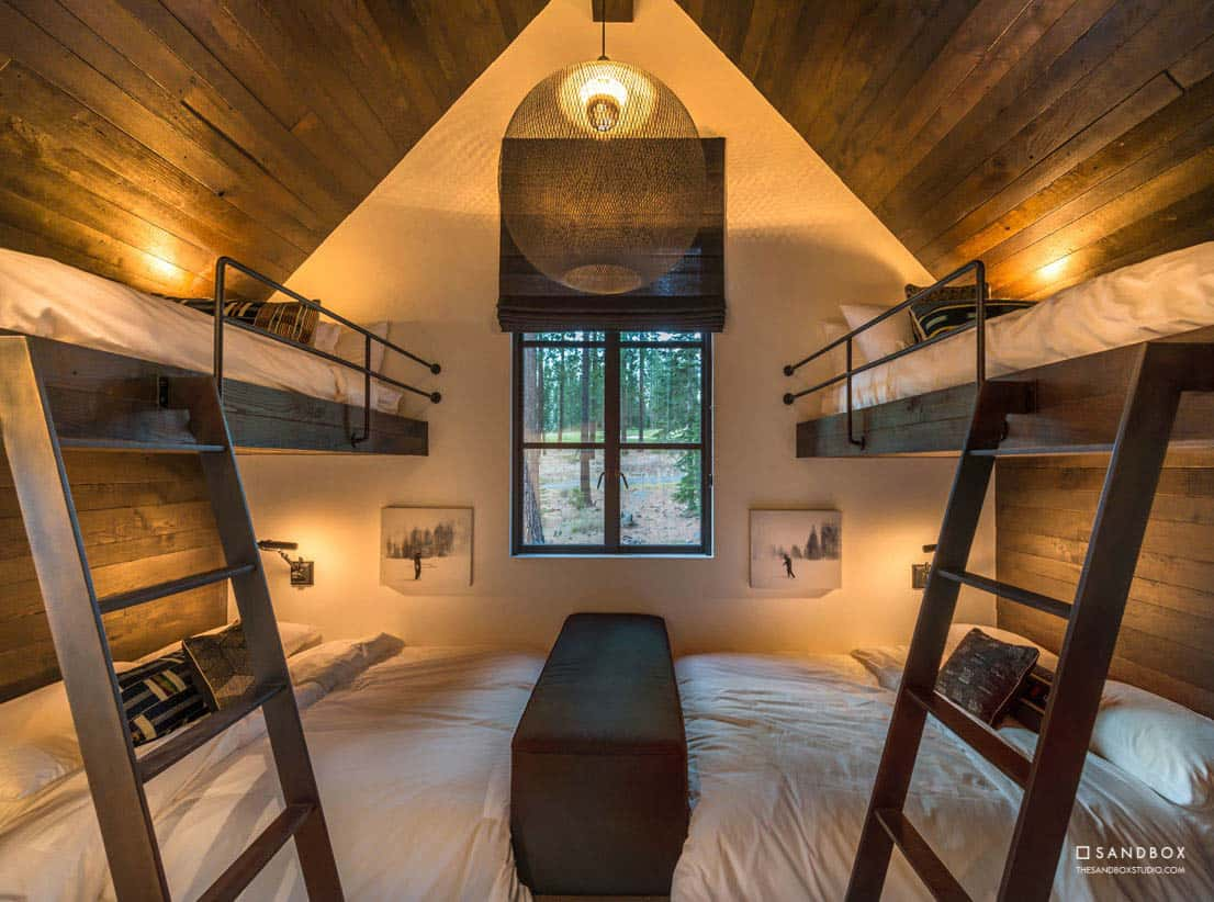 transitional-mountain-home-guest-bunk-bedroom