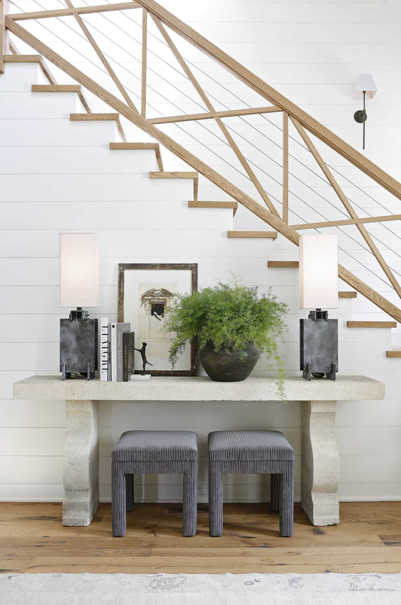 transitional-style-home-entry-console-table