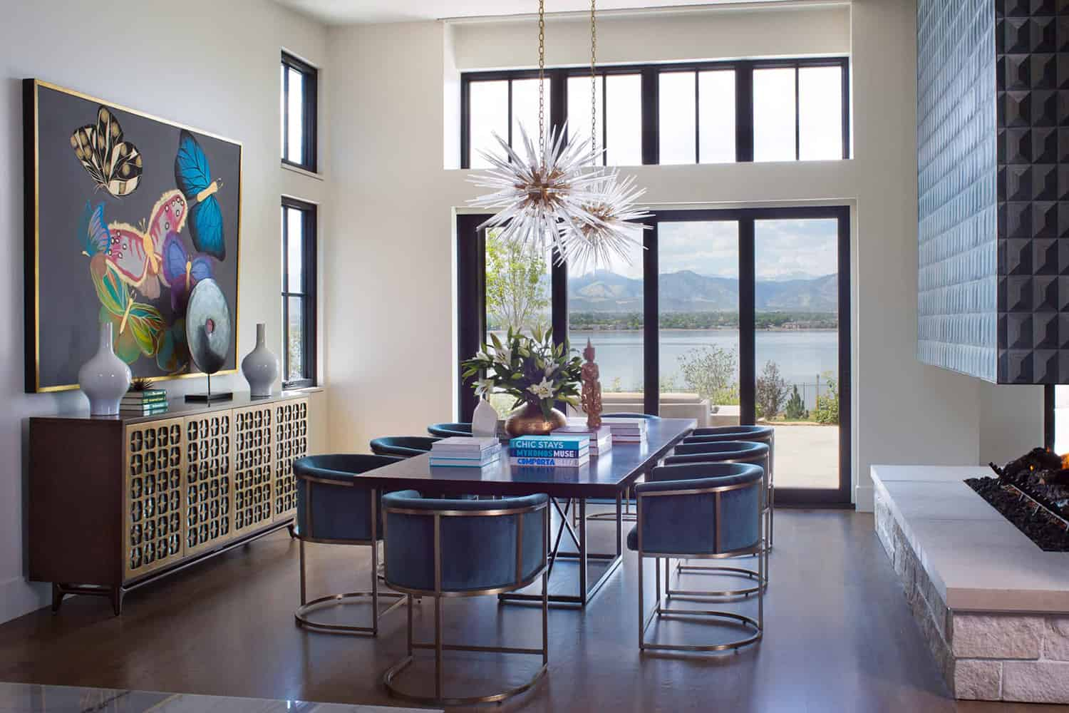 contemporary-lakeside-dining-room