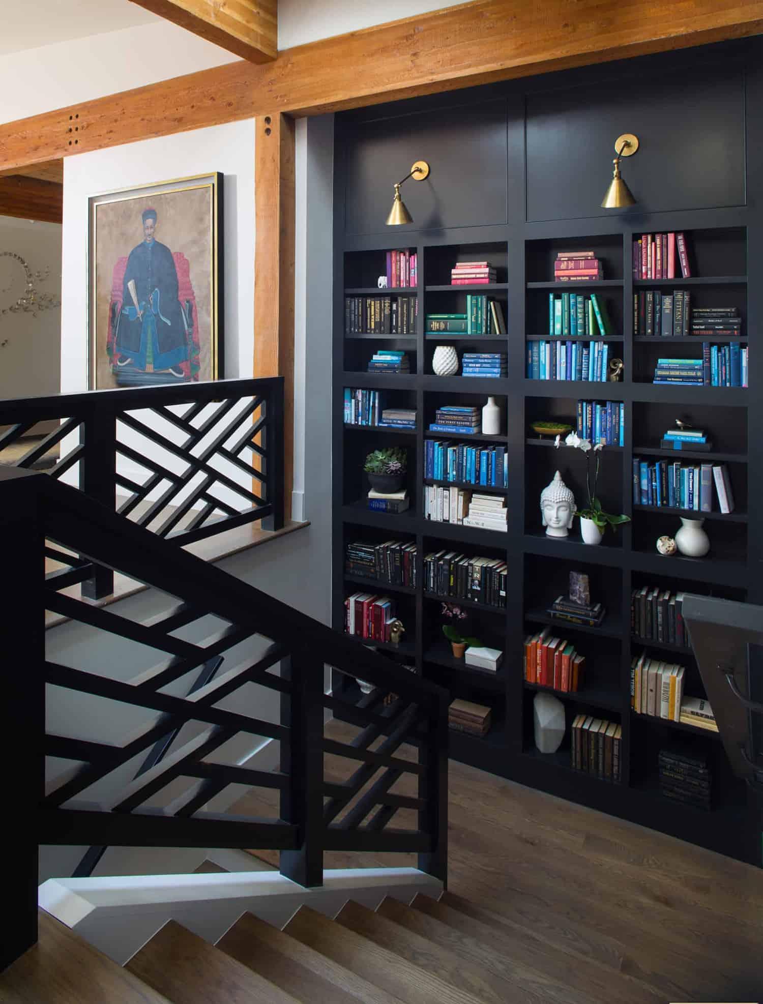 contemporary-staircase-bookshelf
